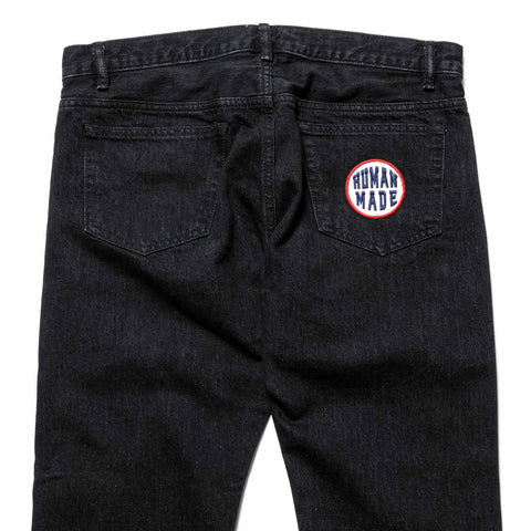 Human Made PW Color Denim Black, Bottoms