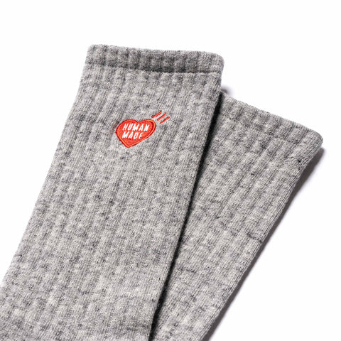Human Made Pile Socks Gray, Accessories