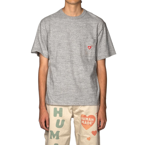 Human Made Pocket T-Shirt #03 Gray, T-Shirts