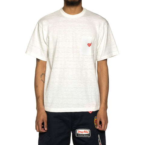 Human Made Pocket T-Shirt #1 White, T-Shirts
