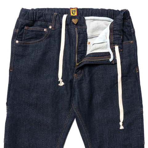Human Made Relax Denim Pants One Wash, Bottoms