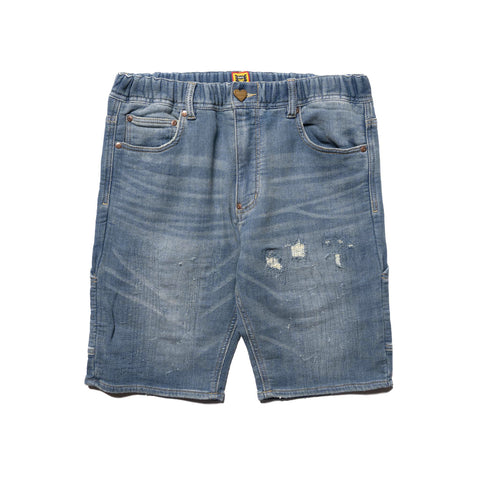 Human Made Relax Denim Shorts Indigo, Bottoms