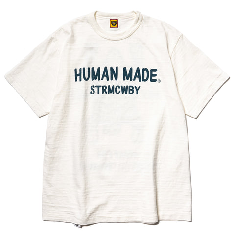 Human Made T-Shirt #1713 White, T-Shirts