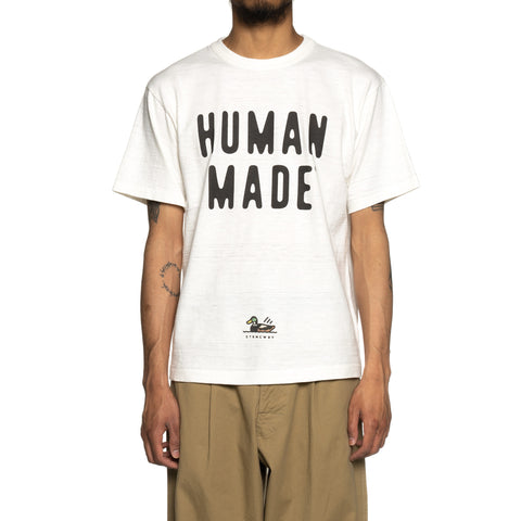 Human Made T-Shirt #1909 White, T-Shirts