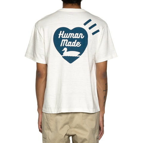 Human Made T-Shirt #1915 White, T-Shirts