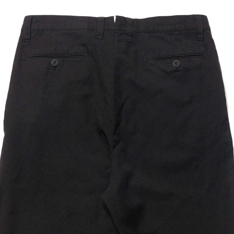 Junya Watanabe MAN Polyester Twill Garment Dyed Pant Black, Bottoms