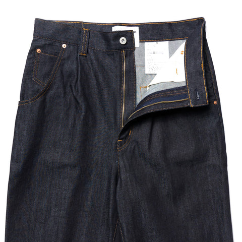 Junya Watanabe MAN Wide Cotton Denim Pant Indigo, Bottoms