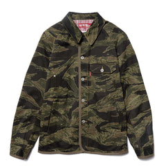 Junya Watanabe MAN eYe x Levi's Cotton Twill Print Name Jacket Khaki/Black, Outerwear