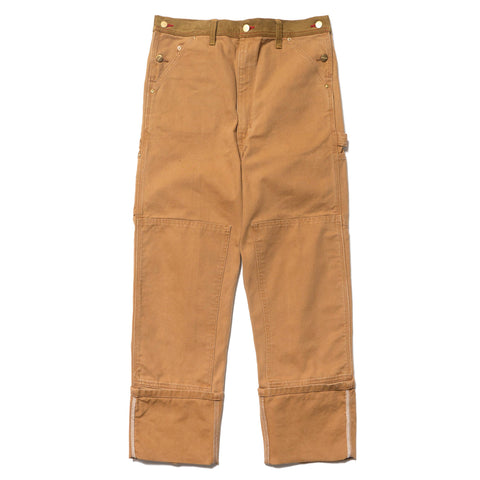 Junya Watanabe MAN x Carhartt Customized Overall Pant Brown, Bottoms