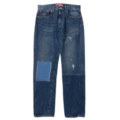 Junya Watanabe MAN x Levi's 501 1954 Garment Treated Cotton Denim Customized Indigo, Bottoms