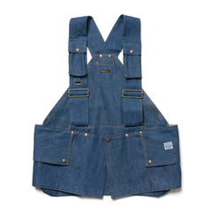 KAPITAL 11.5oz Denim Fishing Vest IDG, Vests