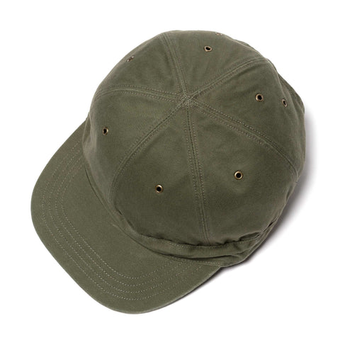 KAPITAL Chino BARBIE Cap (RAIN SMILE) Khaki, Accessories