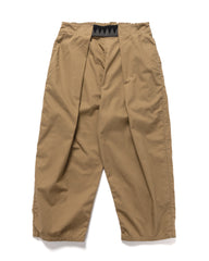Kapital Combed Burberry Cotton EASY-BEACH-GO Pants Beige, Bottoms