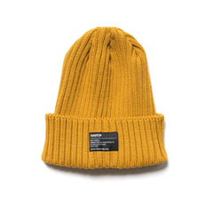 HAVEN Wool Knit Cap Yellow