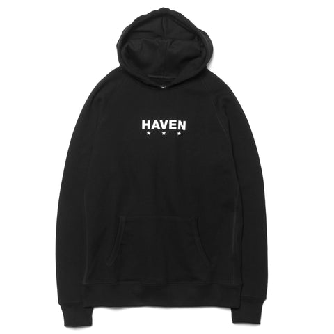 HAVEN Core Logo Pullover Hoodie Black/White