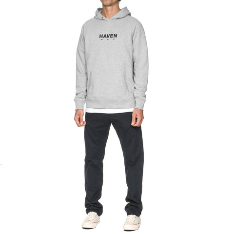 HAVEN Core Logo Pullover Hoodie Heather Gray