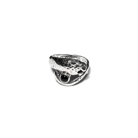 MAPLE Big Cat Ring Silver .925/Onyx, Accessories