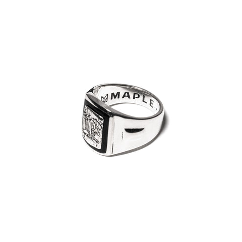 MAPLE Birds of Paradise Ring Silver 925/Black, Accessories