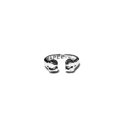MAPLE Bone Ring Silver .925, Accessories