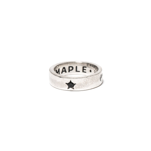 MAPLE Cowboys On Acid Ring Silver 925/Onyx, Accessories