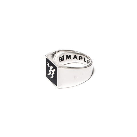 MAPLE Lightning Ring Navy/Silver 925, Accessories