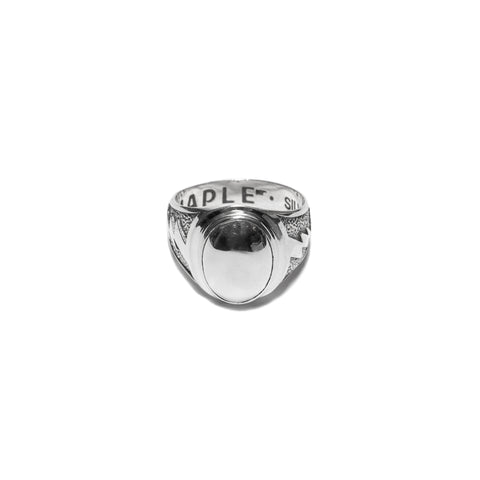 MAPLE Lightning Signet Ring Silver .925, Accessories