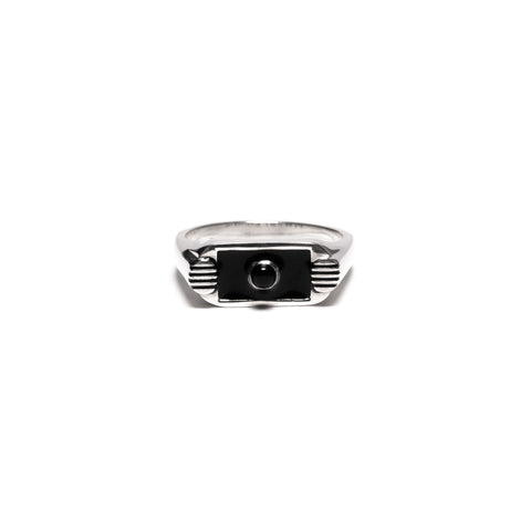 MAPLE Unruly Ring Silver .925/Resin/Onyx, Accessories