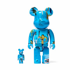 Medicom BE@RBRICK Basquiat#4 100% + 400%, Home Goods