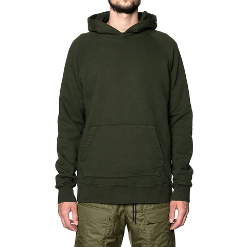 HAVEN Midweight Pullover - Garment Dyed Fleece Spruce, Sweaters