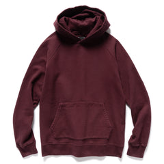 HAVEN Midweight Pullover - Garment Dyed Fleece Garnet, Sweaters