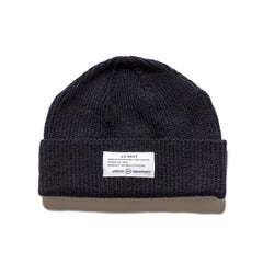 Uniform Experiment Mil Knit Cap Navy, Headwear