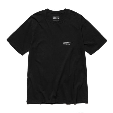 HAVEN / mo'design SONAR T-Shirt - Cotton Jersey Black, T-Shirts