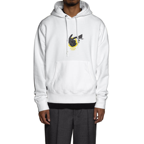 Moncler Genius 7 Moncler Fragment Jersey Hooded Sweatshirt White, Sweaters