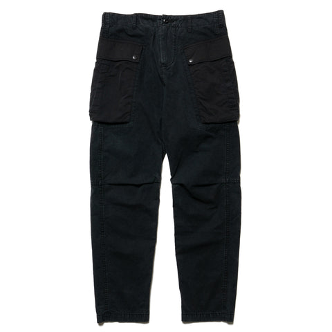 HAVEN Monkey Pant - Sulphur Dyed Cotton Black, Bottoms