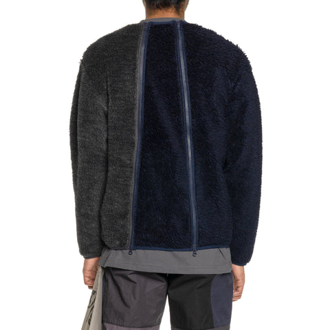 Mountain Research 4 Zips Sweater Navy, Sweaters