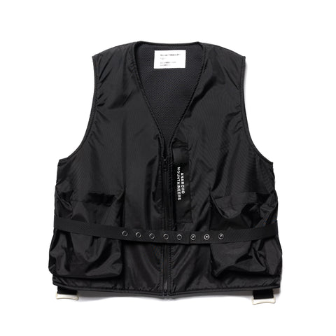 Mountain Research E-1 Vest Black, Outerwear