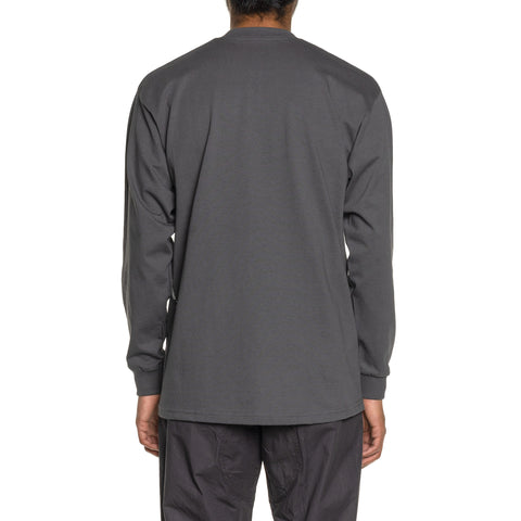 Mountain Research L/S Tee (A) C.Gray, T-Shirts