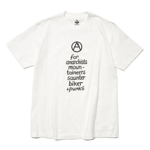 Mountain Research Print Tee (A) White, T-Shirts