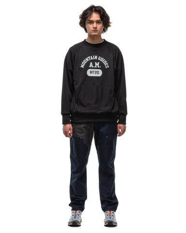 Mountain Research Sweat Crew Plus Black, Shirts