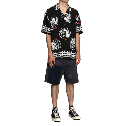 NEIGHBORHOOD Aloha . Rooster / R-Shirt . SS Black, Shirts
