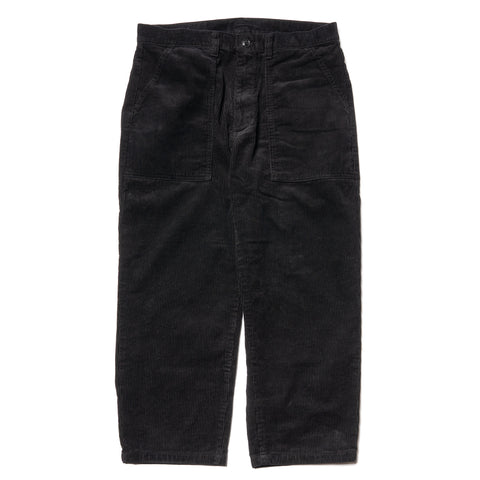 NEIGHBORHOOD Baker Cord / C-PT Black, Bottoms