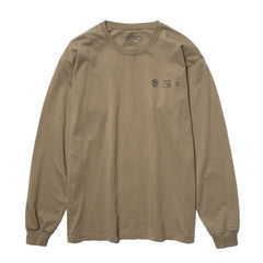 NEIGHBORHOOD Signaling / C-Tee . LS Olive Drab, T-Shirts