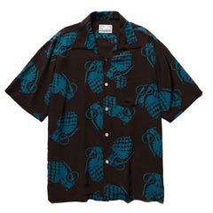 NEXUSVII Hawaiian Shirts (GRENADE)  D.Brown/Blue, Shirts