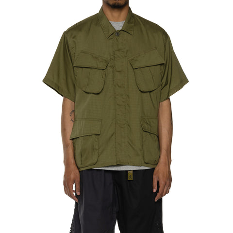 NEXUSVII Jungle Fatigue S/S Shirt Olive, Shirts