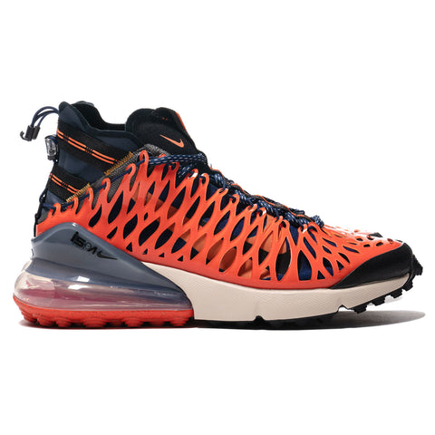 huge selection of 1a22e 16c3e Nike Air Max 270 ISPA Blue Void Terra Orange, Footwear