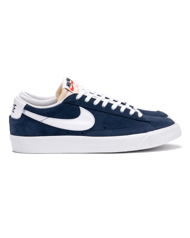 Nike Blazer Low '77 Navy / White, Footwear