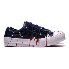 Needles Asymmetric Ghillie Sneaker Over Dye / Paint, Footwear