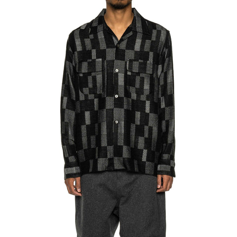 Needles C.O.B. Classic Shirt - Patchwork Jq. Black, Shirts