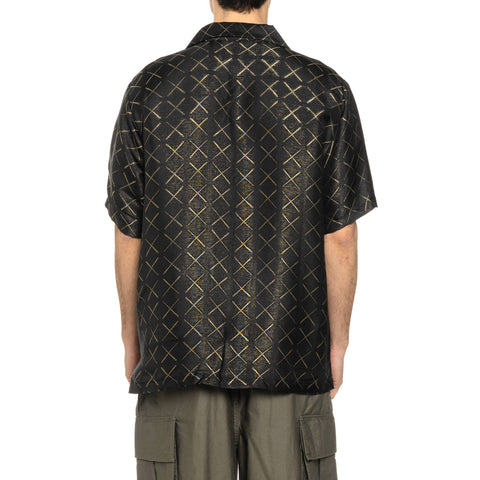 Needles Cabana Shirt - CuR/Pe Jacquard Black, Shirts