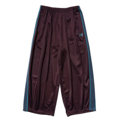Needles H.D. Track Pant - Poly Smooth Bordeaux, Bottoms